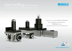 Live tooling for CNC lathes