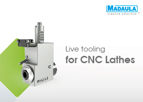 Live toolings for CNC Lathes