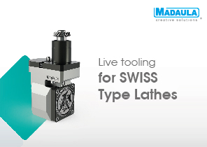 Live toolings for Swiss type Lathes